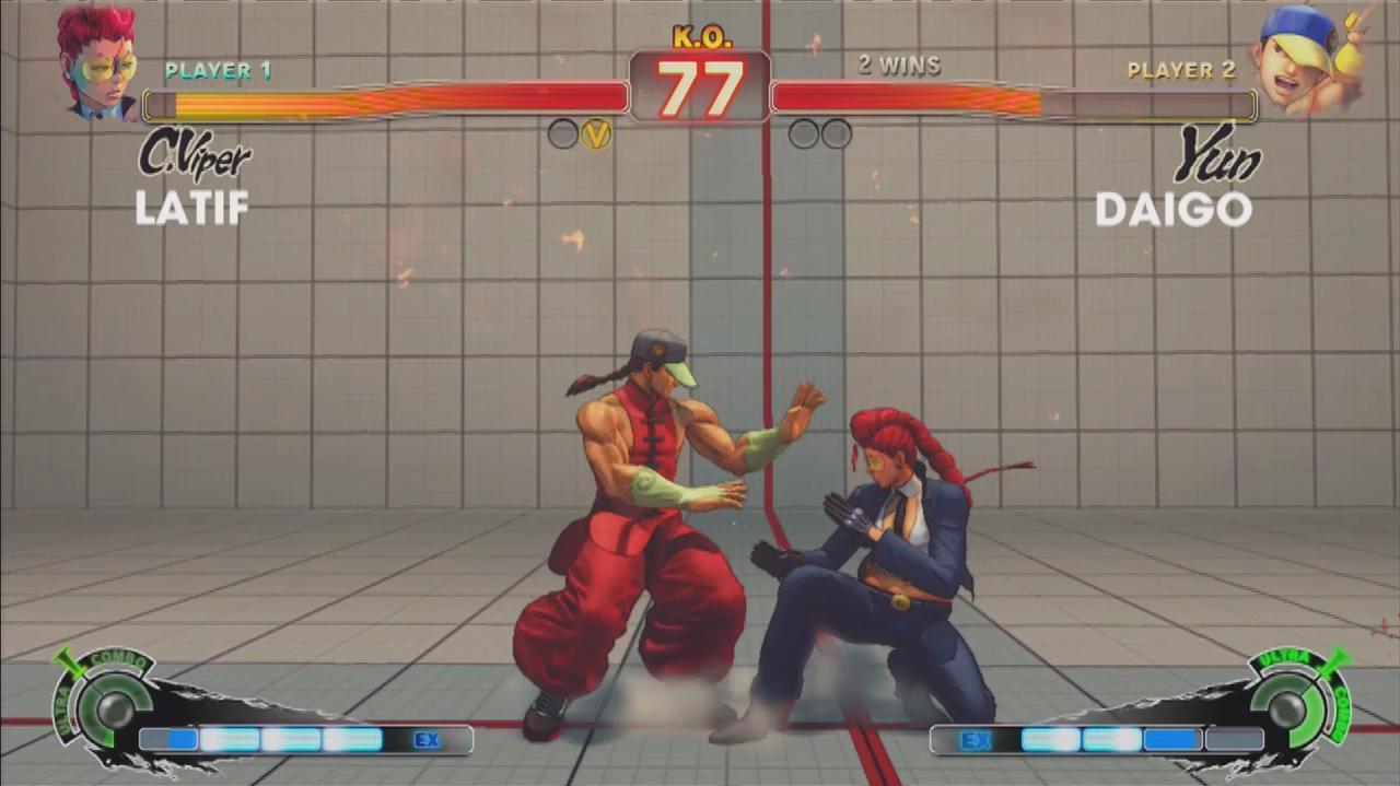 Super Street Fighter IV Arcade Edition - Evo 2011 Top 8 – Latif vs. Daigo