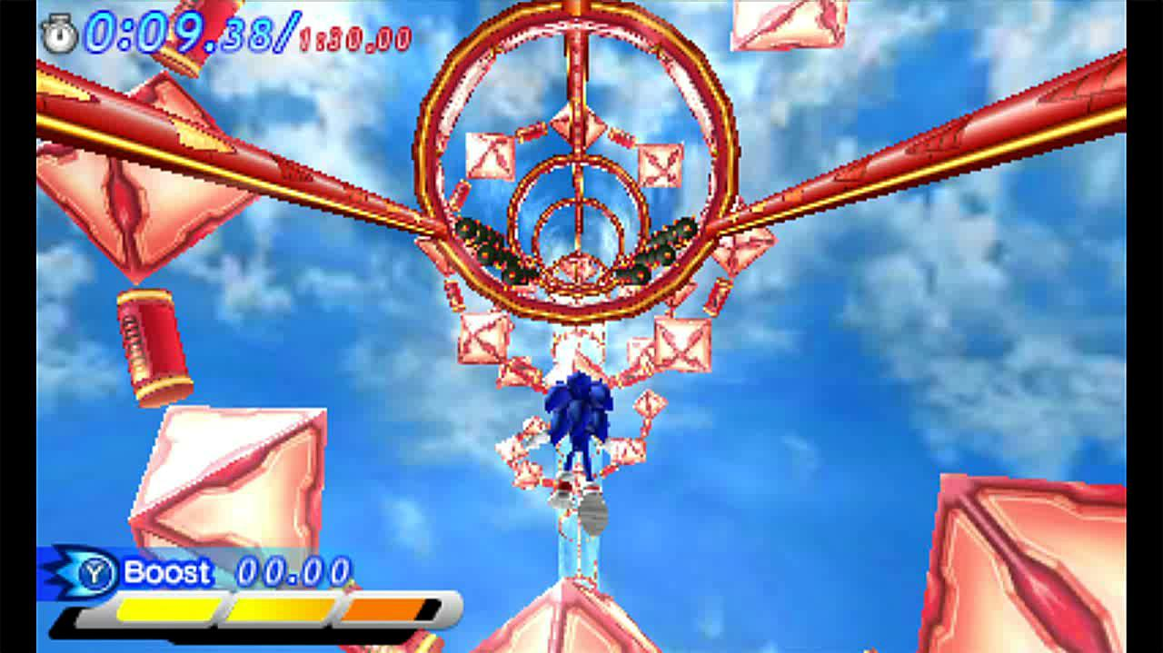 Sonic Generations Mushroom Hill Special Stage Clip