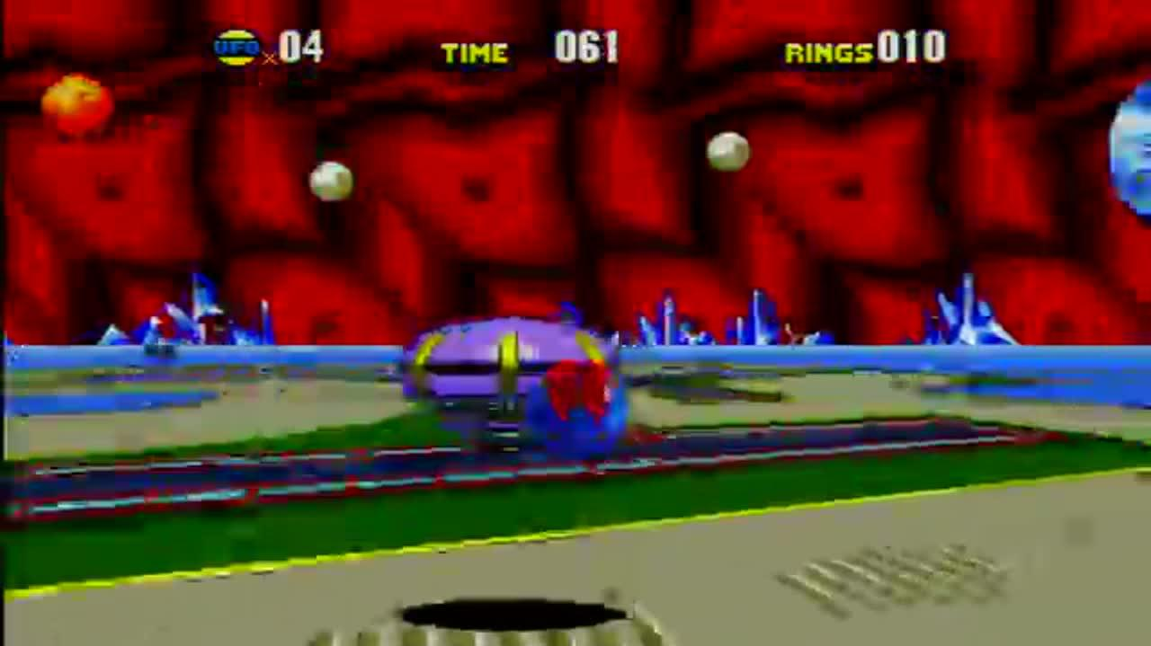 Sonic CD Special Zone