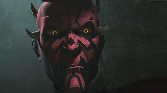 Becoming Darth Maul