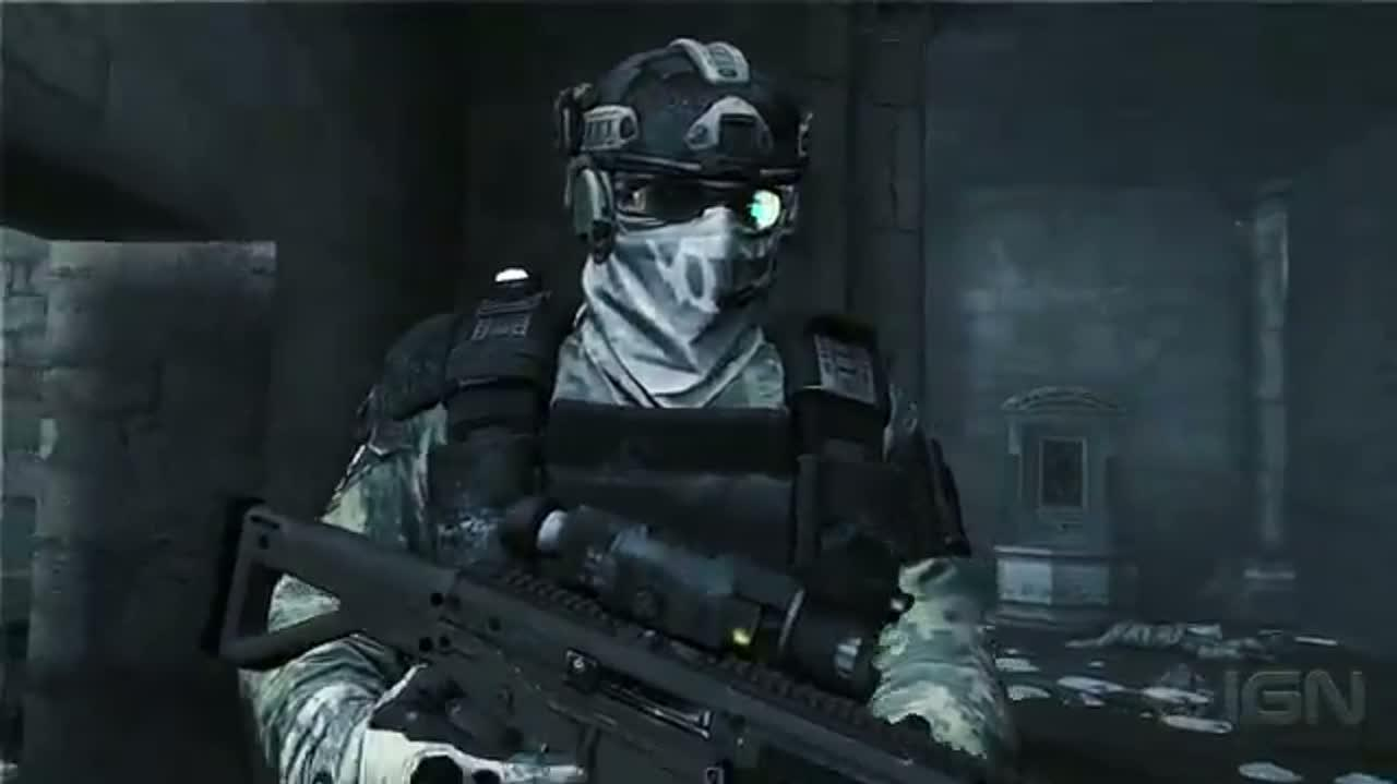 Ghost Recon Future Soldier Believe in Ghosts Video 2