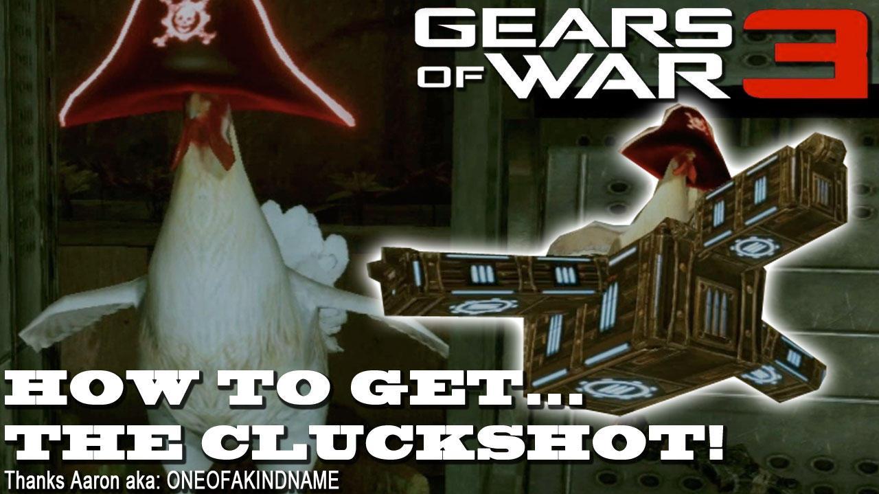 Gears of War 3 Easter Egg The Cluckshot