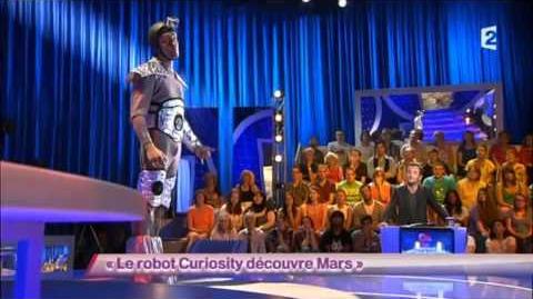 Le robot Curiosity découvre Mars