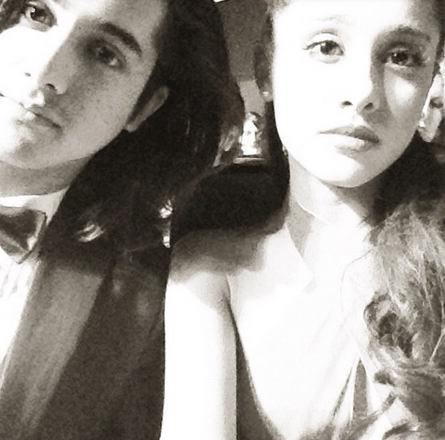 i'll try to picture me without you but i can't. ( baymax ) ♡ Ariana_and_her_co-star_Avan_Jogia_at_the_Emmys_2012