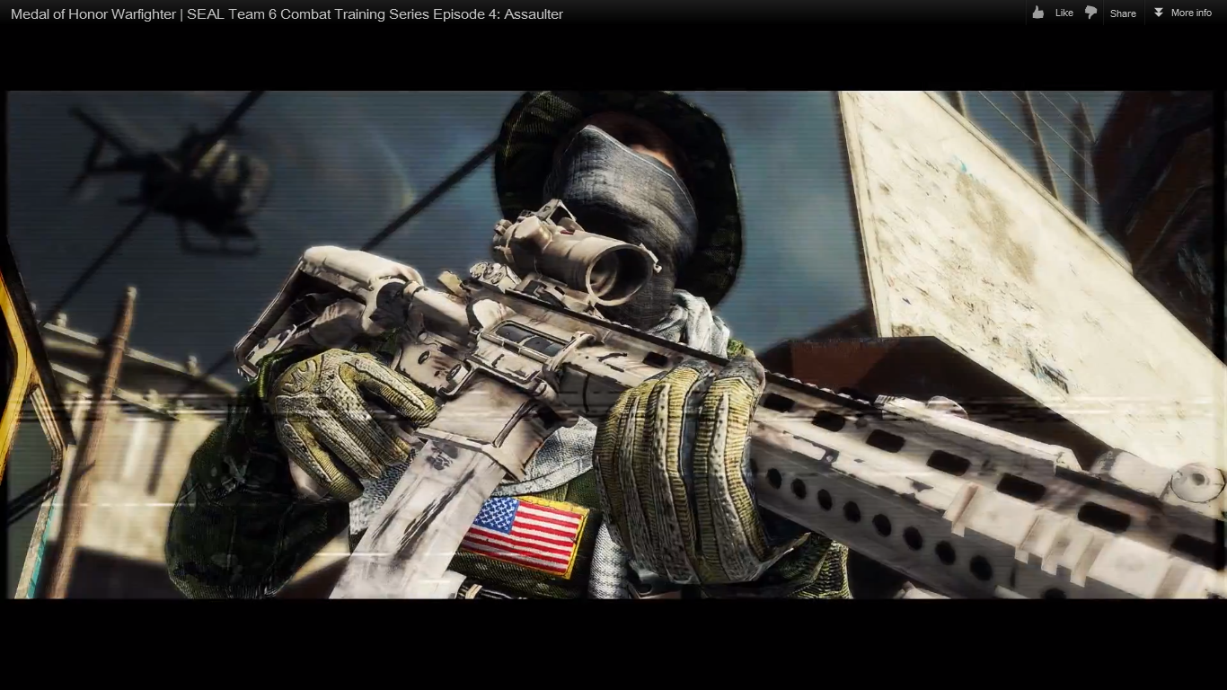 Image - LaRue Tactical OBR 5.56.png - The Medal of Honor ...