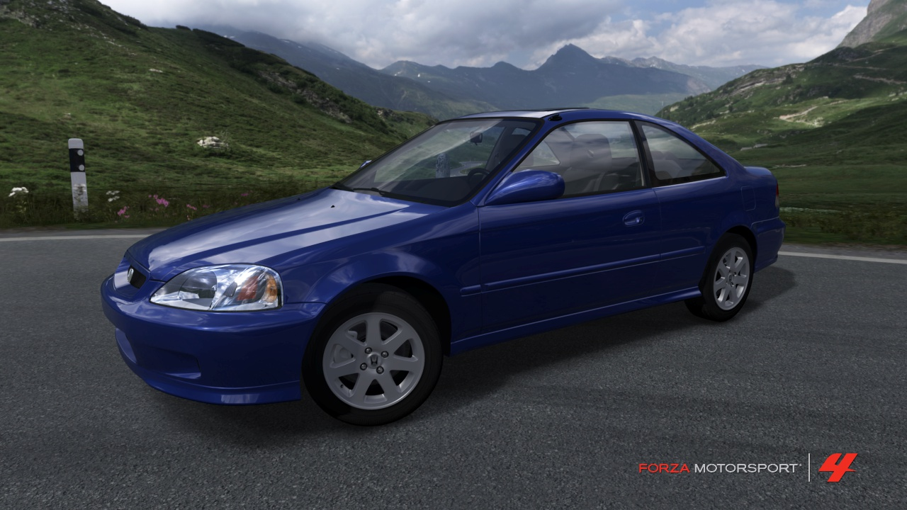 1999 Civic Si Coupe Forza Motorsport 4 Wiki