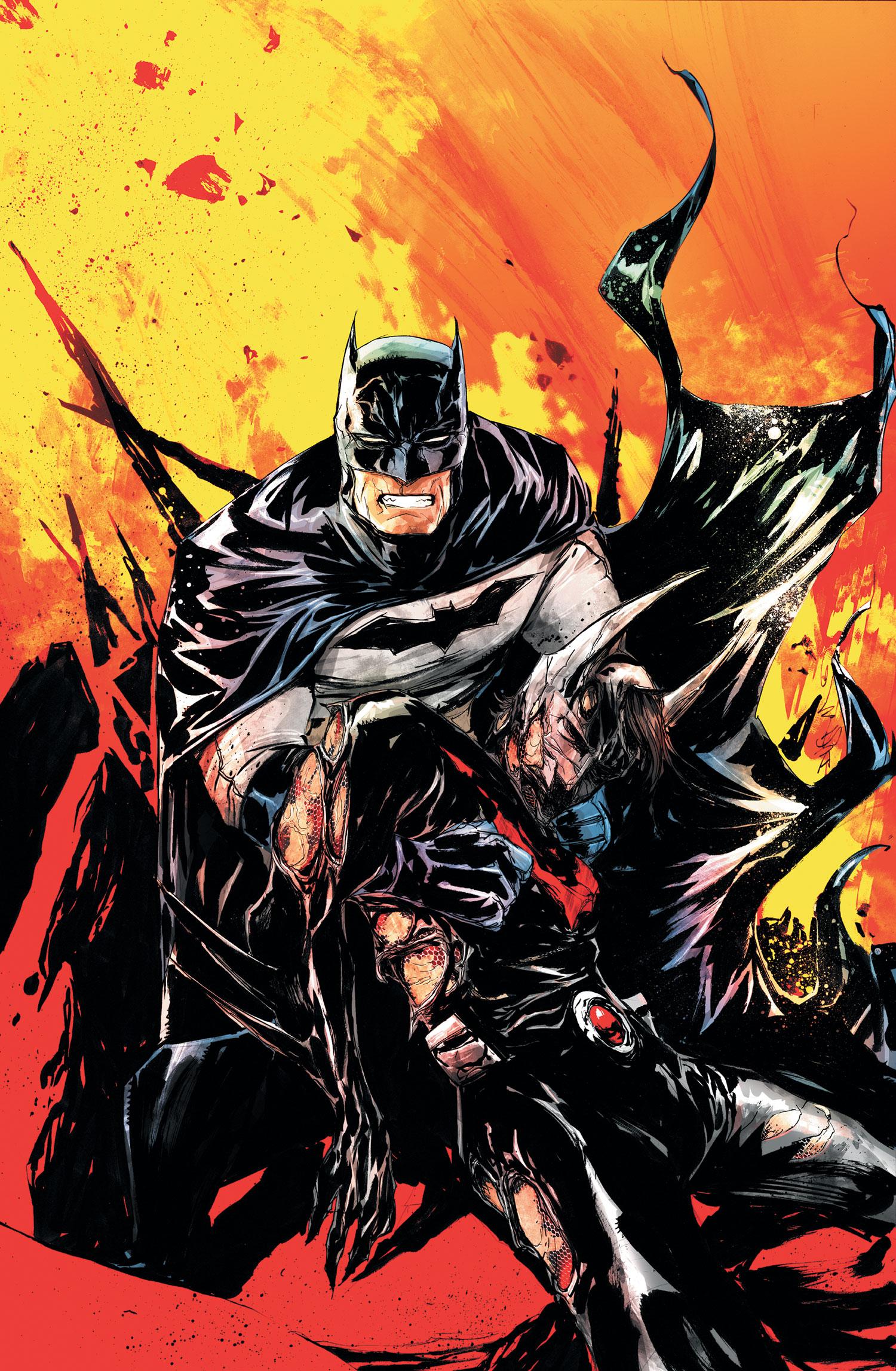 Image - Batman Beyond Unlimited Vol 1 8 Textless.jpg - DC ...New 52 Batman Beyond