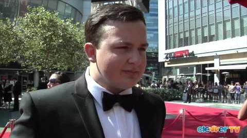 Noah Munck Interview - 2012 Creative Arts Emmys