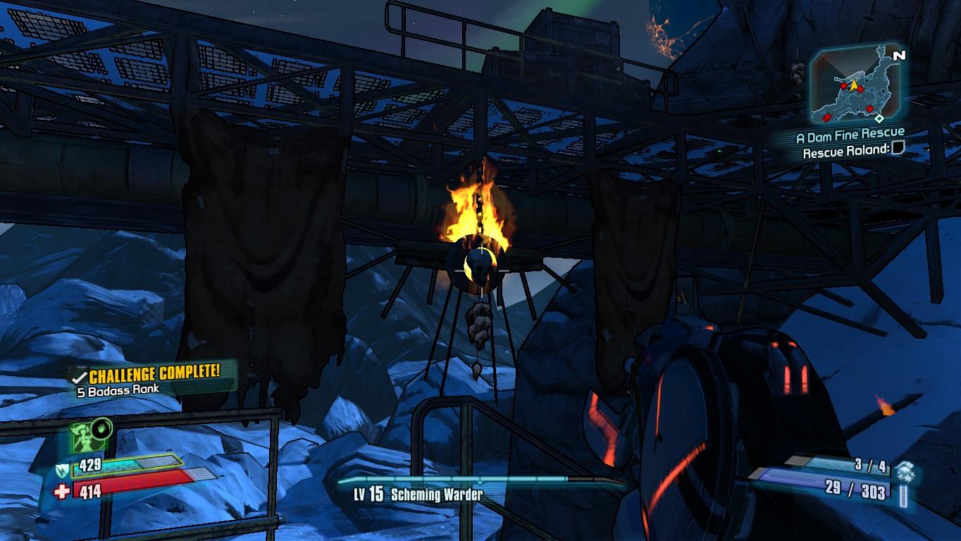 Image Borderlands2 Fire Totem 9 Map Jpg Borderlands - Www