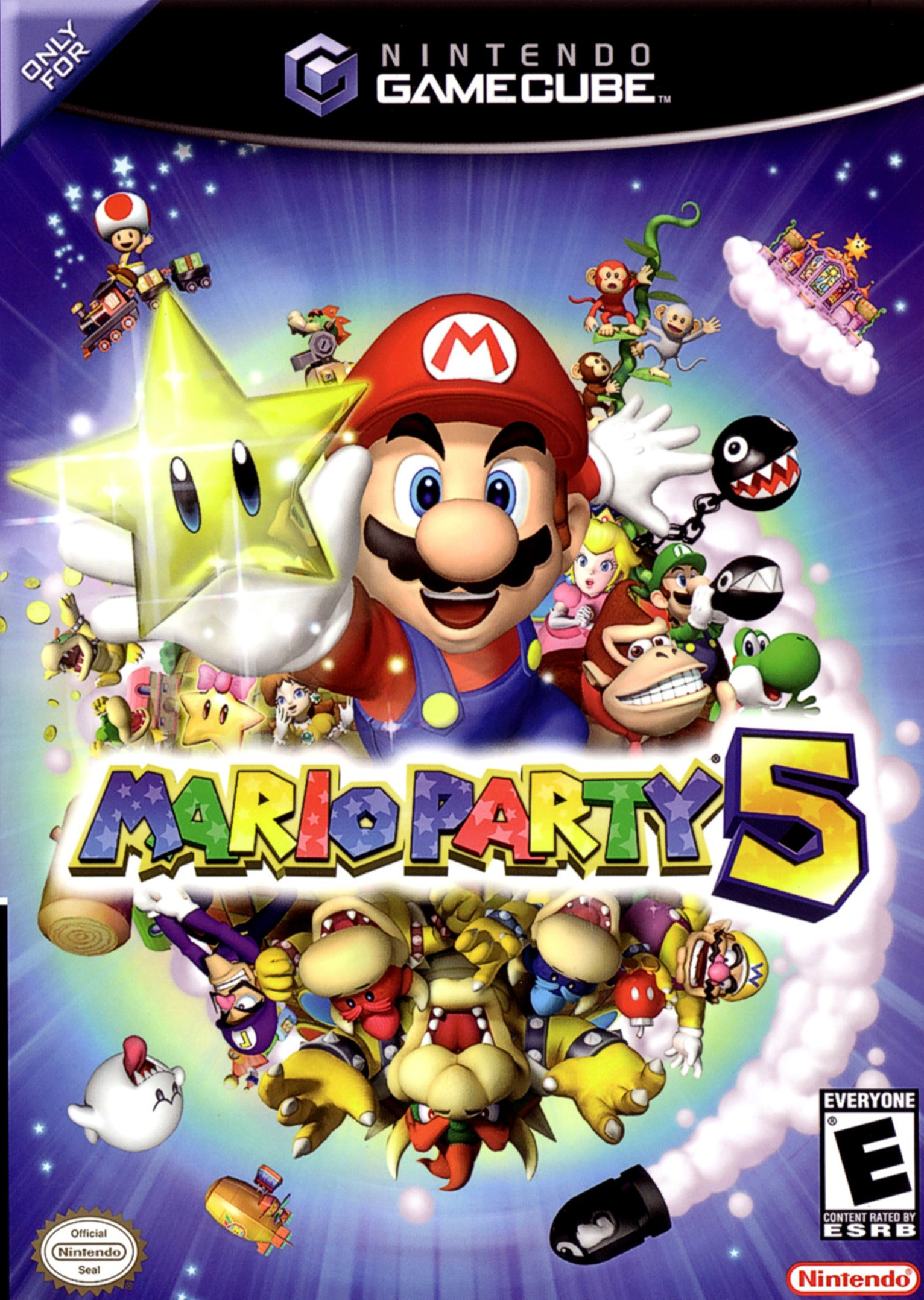 Paper Bowser World 3 Mario Party 5 - ...