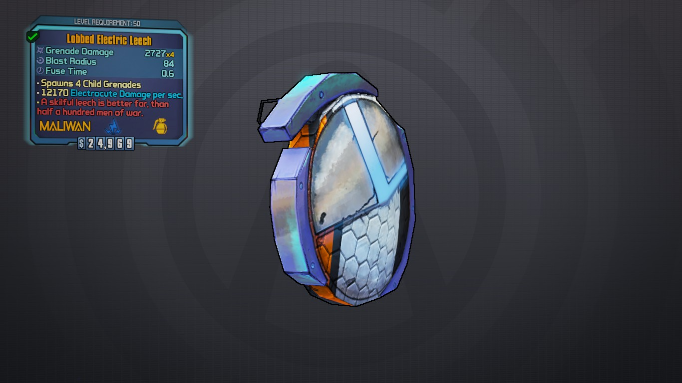 borderlands 2 how to tell what parts shields