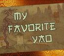 My Favorite Yao