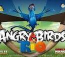 Personajes de Angry Birds Rio