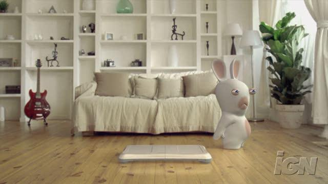 Rayman Raving Rabbids TV Party Nintendo Wii Trailer - Rabbids and the Wii Balance Board