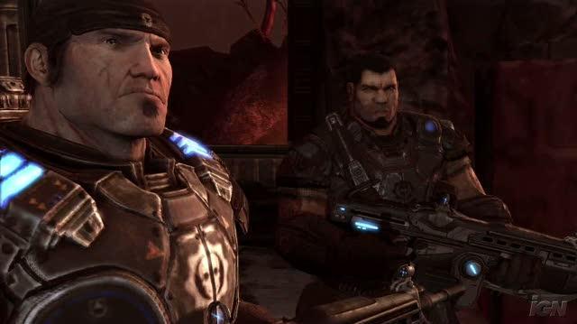 Gears of War 2 Xbox 360 Gameplay - E3 2008 Pistol Whip