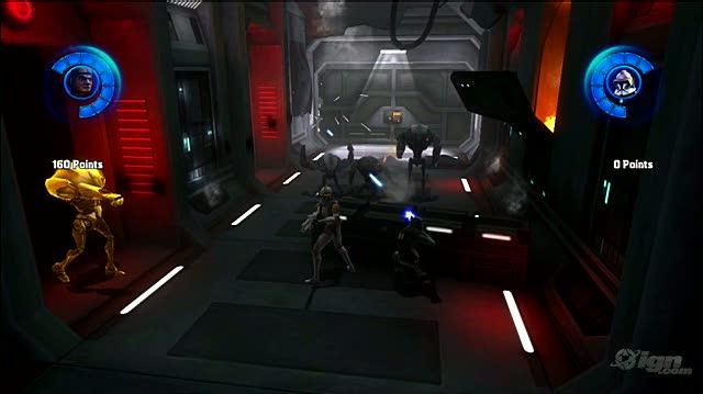 Star Wars The Clone Wars -- Republic Heroes PlayStation 3 Gameplay - Cruiser Fire Fight