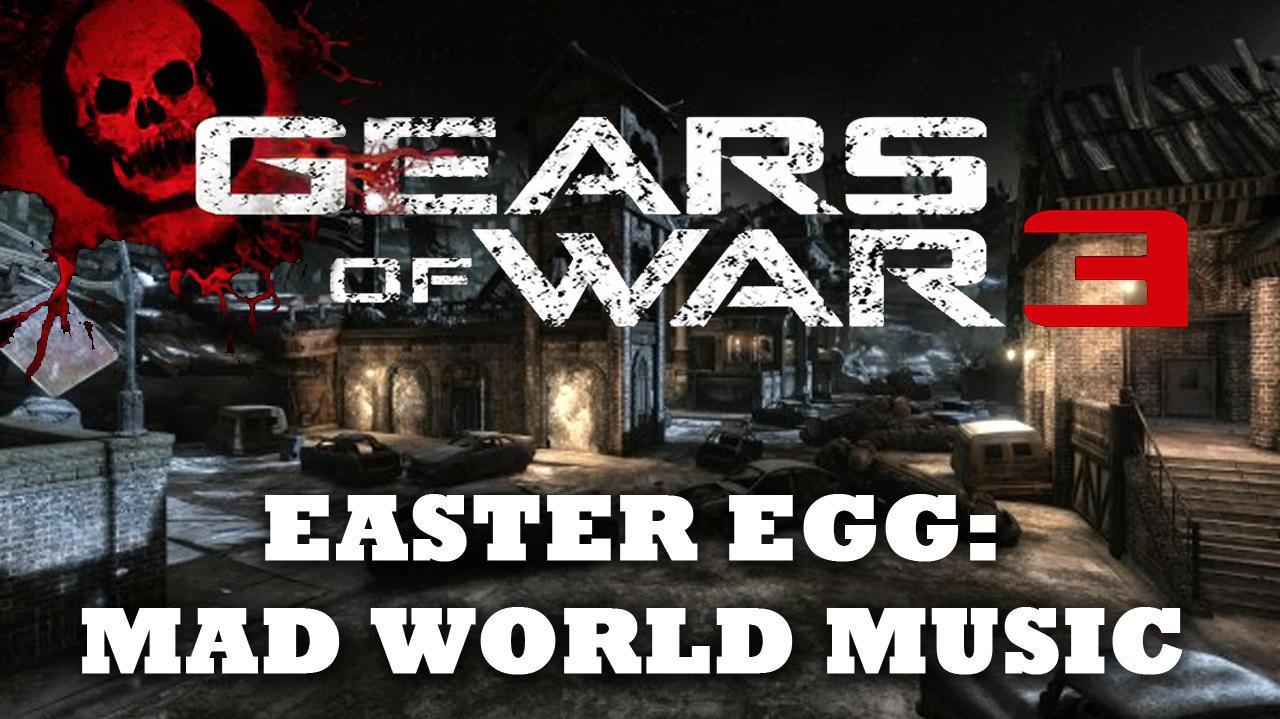 Gears of War 3 Easter Egg Secret Song (Mad World) on Gridlock HD