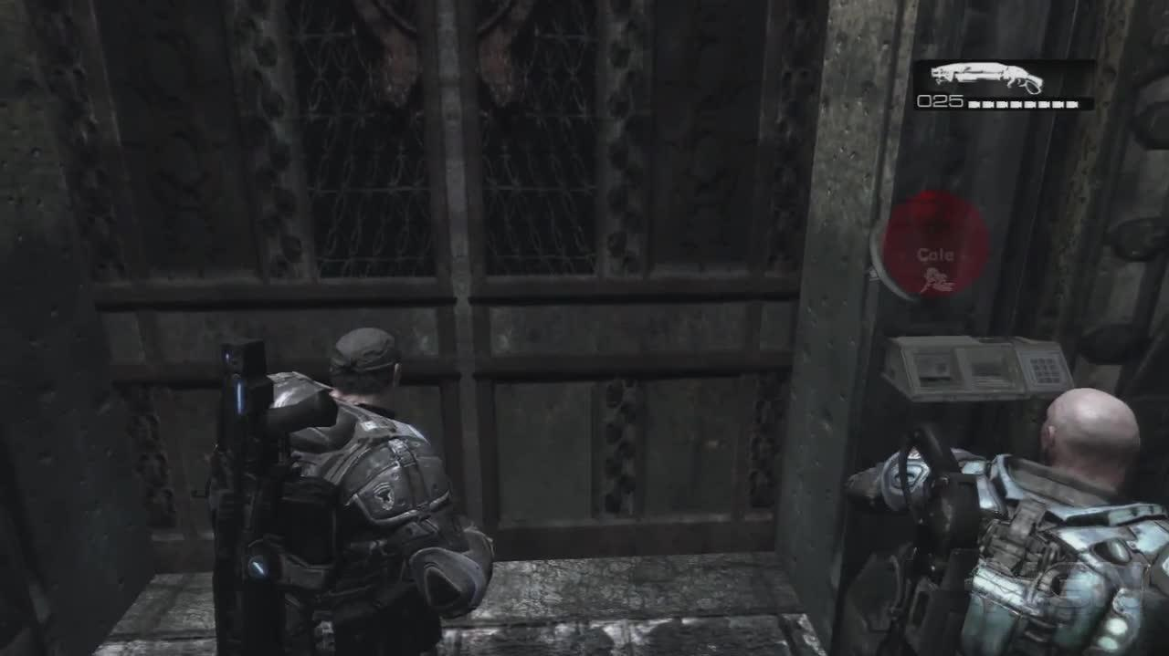 Gears of War - Cole Intro - Gameplay