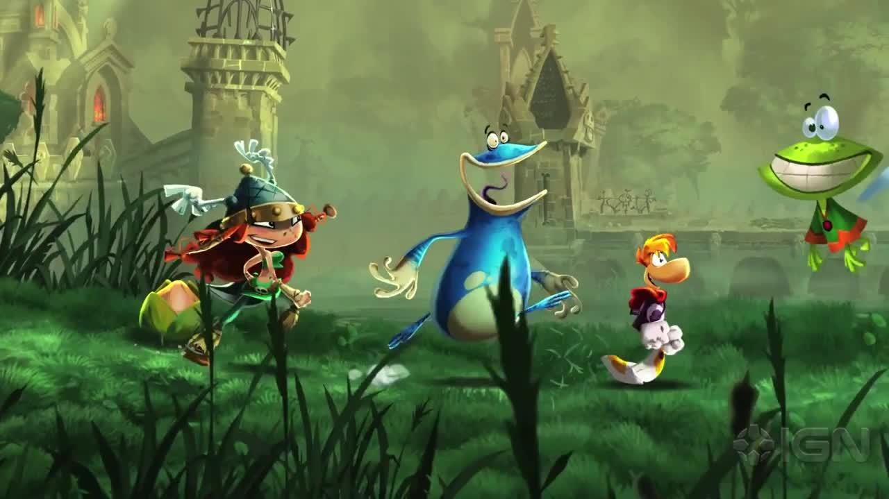Rayman Legends Gamescom Trailer