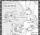 Festín de Cuervos-Mapa Islas del Hierro