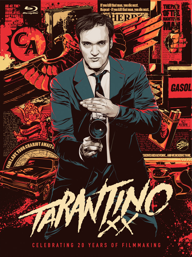 Tarantino xx celebrate 20 years of filmmaking with the ultimate blu