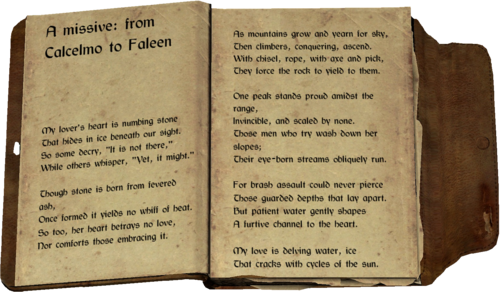 Love Poem The Elder Scrolls