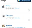 Blogs/Bloglist