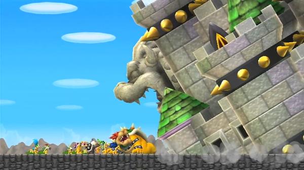 Bowser Vs Mario New Super Mario Bros Wii