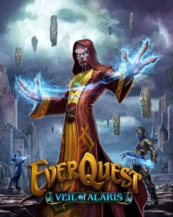 EverQuest box art Veil of Alaris