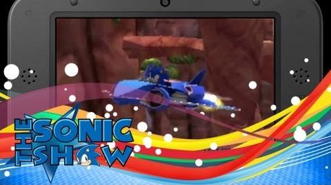 First 3DS Sonic & All Stars Transformed Footage.