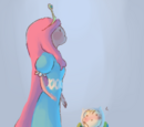 Finn and Princess Bubblegum