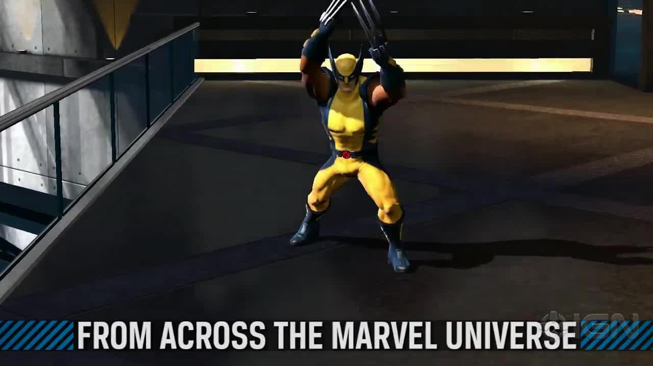 Marvel Heroes -- NYCC Trailer