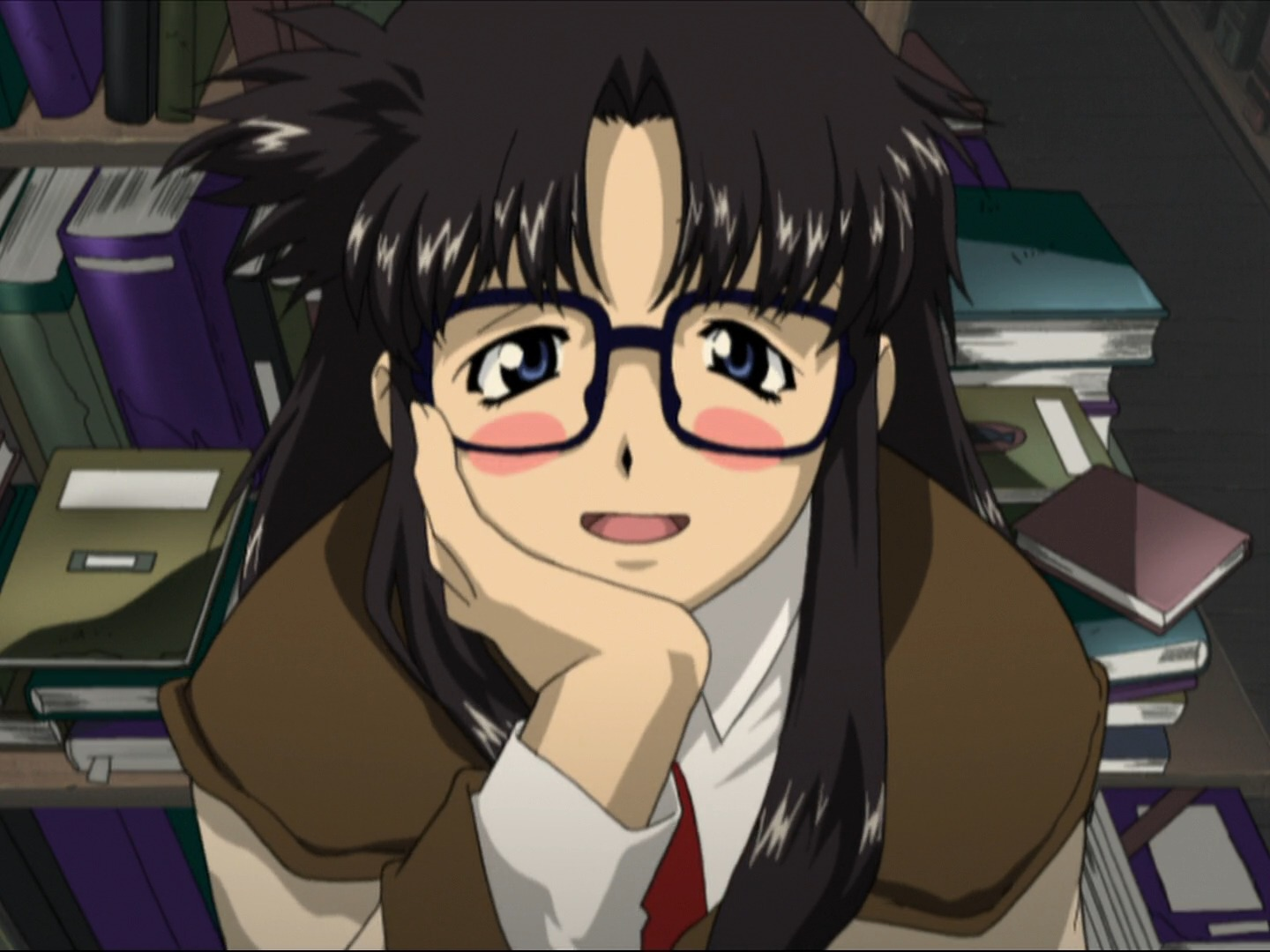 R O D Anime Characters : Yomiko readman read or die wiki