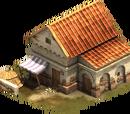 Dom kryty dachówką