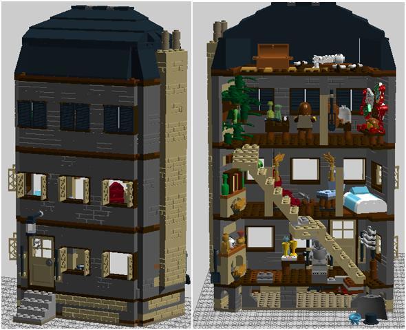 Sh 221b Baker Street Lego Fanonpedia