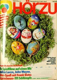 Hörzu 13 1983 front
