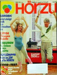 Hörzu 14 1983 front