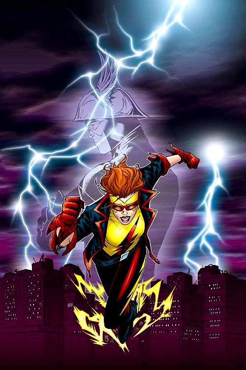 real name iris west current alias kid flash relatives wally west ...