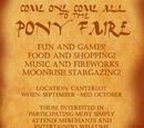 Pony Faire