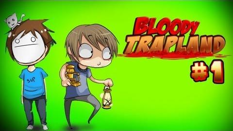 DEADLY BROFISTS! - Pewds & Cry Plays Bloody Trapland - Part 1