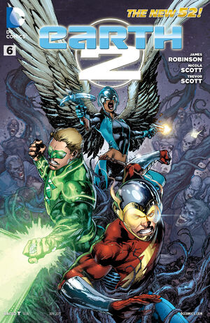 Cover for Earth 2 #6 (2013)