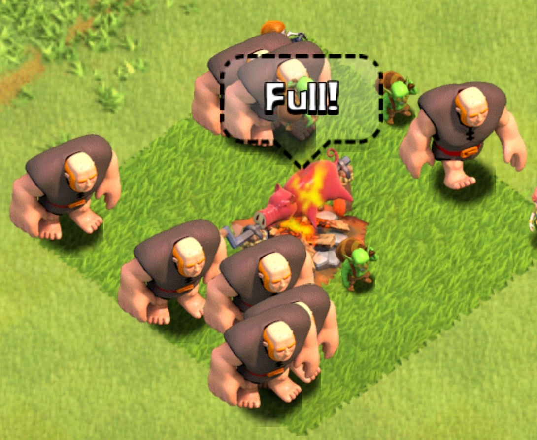 Clash Of Cla... Clash Of Clans Level 4 Giants