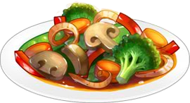 Recipe-Stir Fry Vegetables