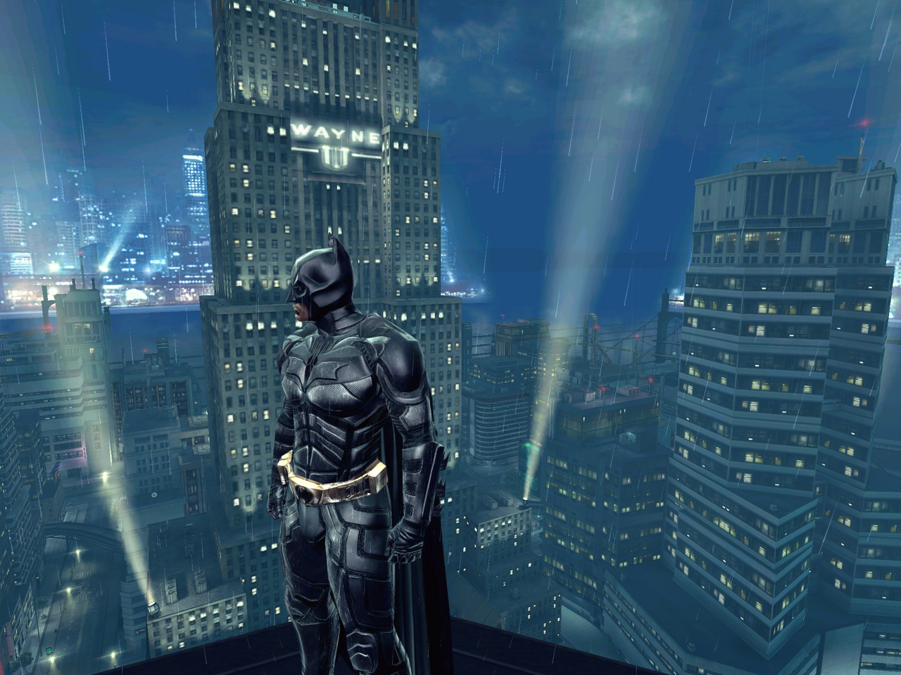 Why does the Dark Knight switch from full screen to ...