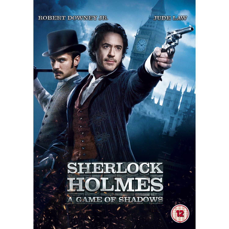 no dvd шерлок холмс 3: