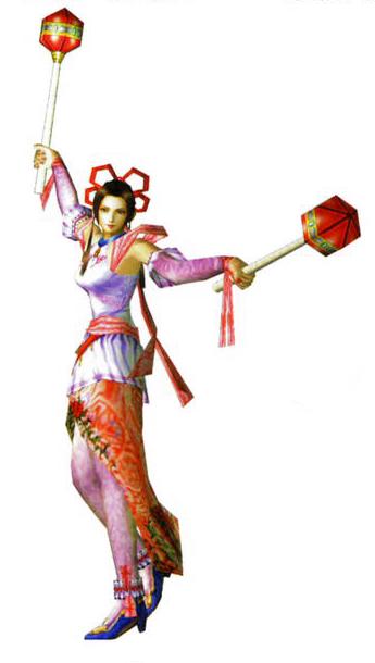 Image dw2 render diao chan png the koei wiki dynasty warriors samurai warriors - Seven knights diaochan ...