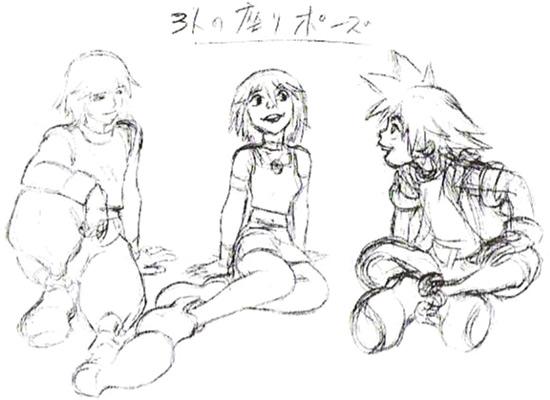 Tetsuya Nomura The Keyhole Ye Olde Kingdom Hearts Fansite