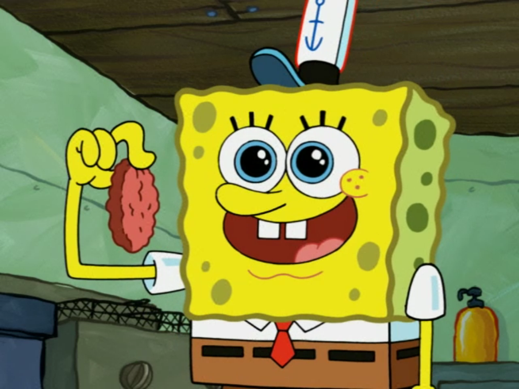 Someone S In The Kitchen With Sandy Spongebob