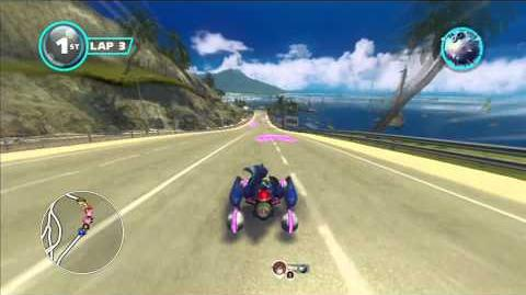 Sonic & All Stars Racing Transformed Outrun Bay 1080 HD