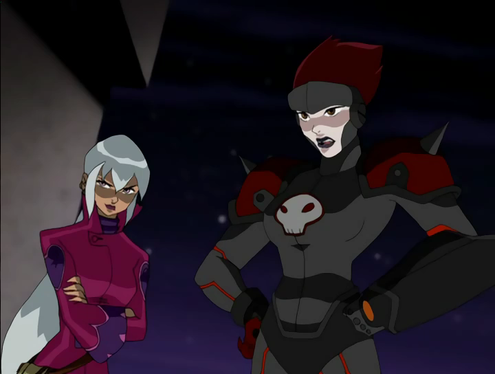 Ben 10 Omniverse Charmcaster File:charmcaster and rojo.png